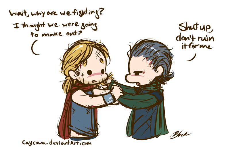 Thor/Loki Week - Kick-Off Night: Why Thor/Loki? by caycowa