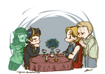 Thor/Loki Week - Day 2: Different Canons