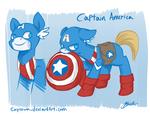 Avengers/MLP Crossover - Captain America