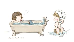 Stucky - Bath Time