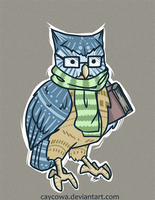 Abble the Owl by caycowa