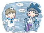 BBC Sherlock - Pirate John and Sherlock