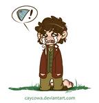 The Hobbit - Bilbo misses his handkerchief