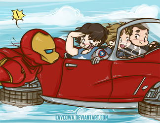 Avengers - The Future is Here by caycowa
