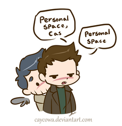 SPN - Personal Space by caycowa