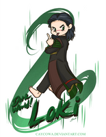 Rude - DarkWorld!Loki by caycowa