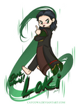 Rude - DarkWorld!Loki