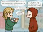 Thorki - Thor and Loki go to the drugstore