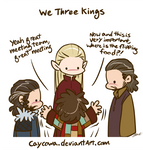 Hobbit - We Three Kings and Bilbo