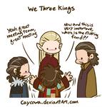 Hobbit - We Three Kings and Bilbo