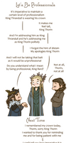 Hobbit - We Three Kings - Lets Be Professionals by caycowa