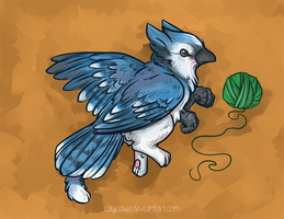 Li'l Birdie Griffins - Blue Jay Griffin
