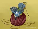 Li'l Birdie Griffins - Eurasian Blue Tit
