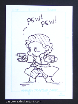 Artist Trading Card - Chibi Star-Lord