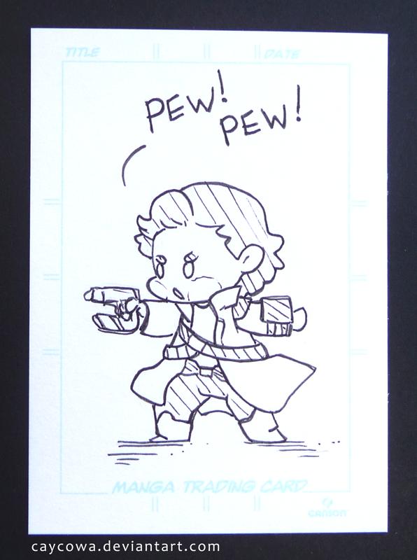 Artist Trading Card - Chibi Star-Lord