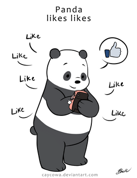 We Bare Bears - Panda likes likes