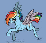 MLP -  Alternate Future Rainbow Dash