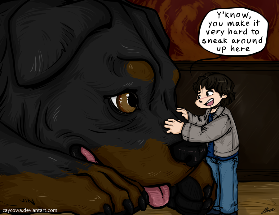 Commission - SPN - Adventure's at Bobby's by caycowa
