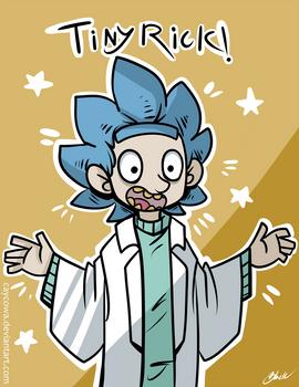 Rick and Morty - Tiny Rick!