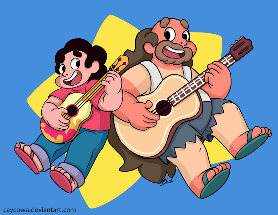 SU - Steven and Greg Universe by caycowa