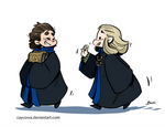 Barduil Hogwarts!AU - Students