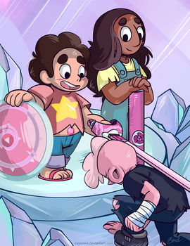 Steven Universe - The Knighty of Lars Barriga