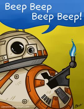 Star Wars TFA - BB-8 - Beep Beep Beep Beep!