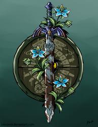 LoZ Breath of the Wild - Sword and Shield