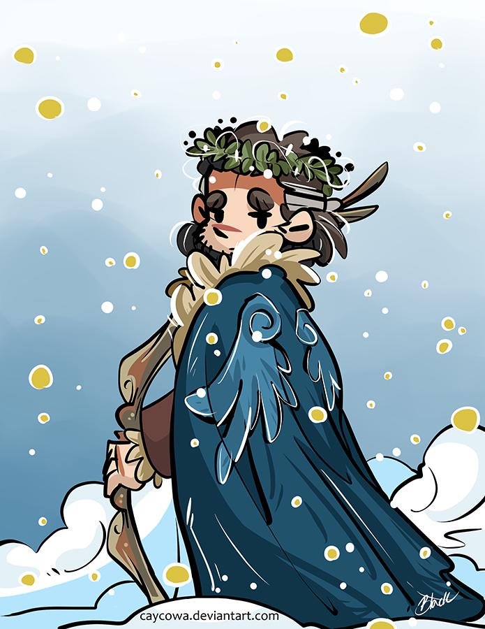 Hobbit - Bard the Snow King