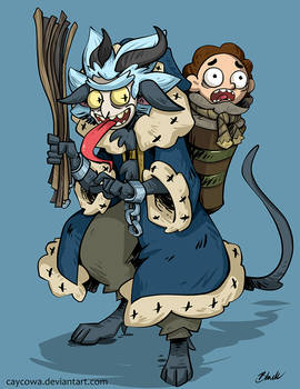 Rick and Morty - Krampus Rick