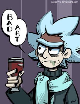 Rick and Morty - Bad Art