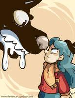 Hilda and the Black Hound by caycowa