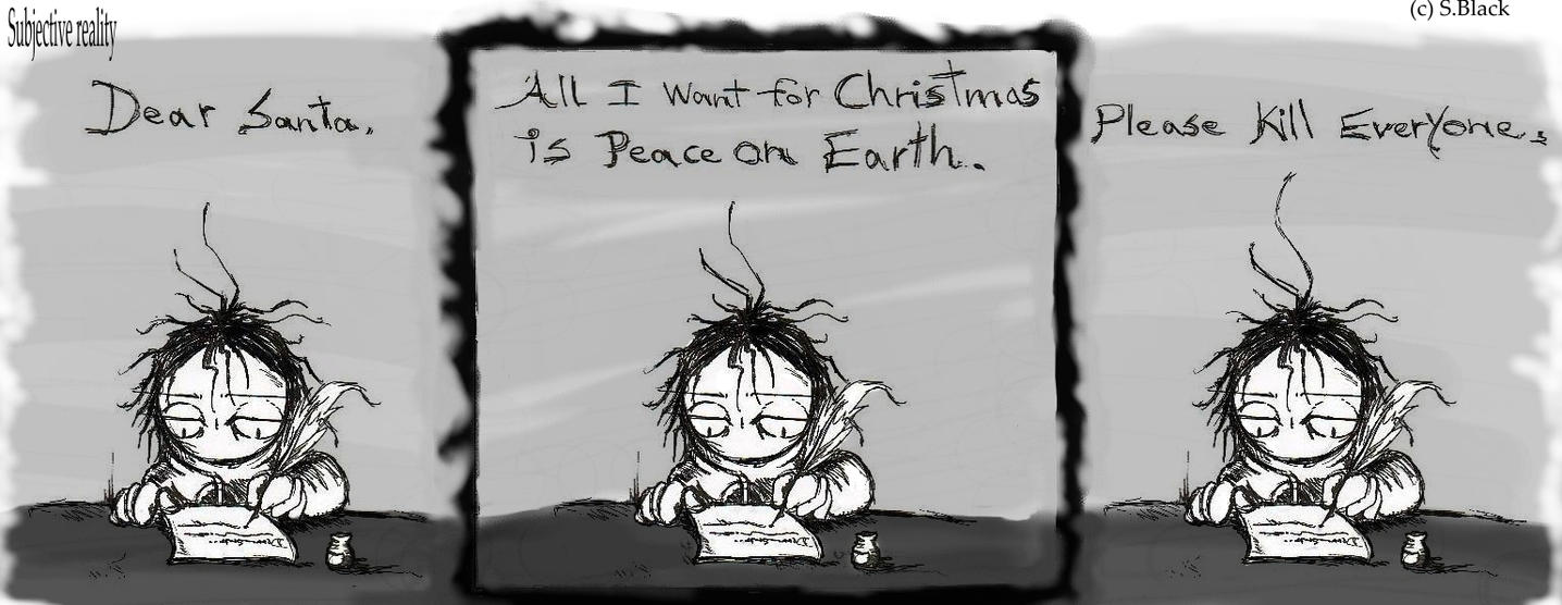 All I want for Christmas is... by caycowa on DeviantArt