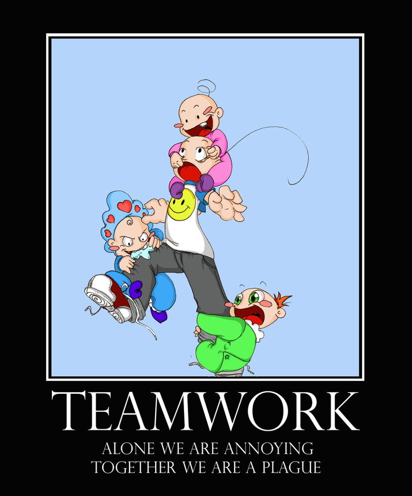 Funny Team Quotes: Teamwork By Caycowa On DeviantArt