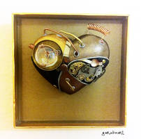 Steampunk heart by pacogarabo