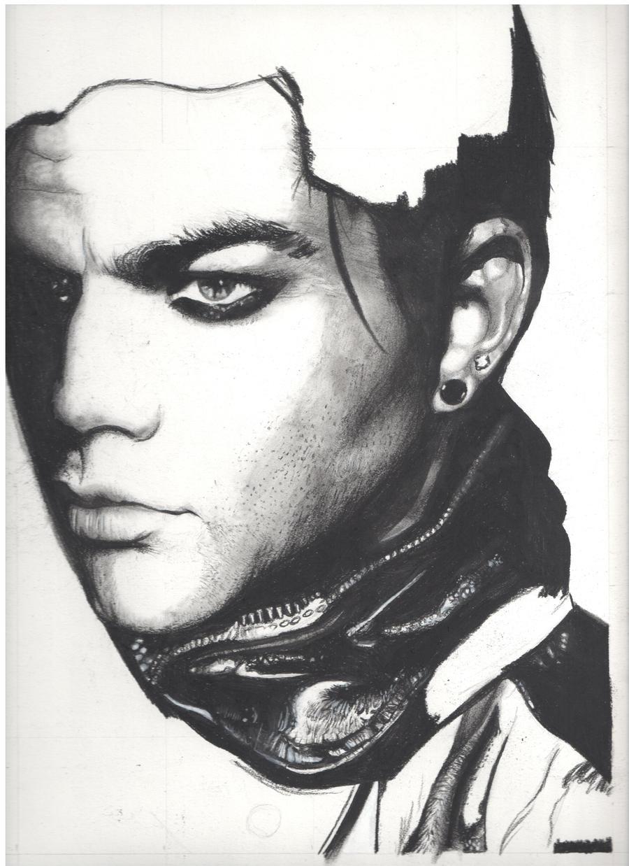 Adam Lambert Drawing -WIP By HannahrArt On DeviantArt