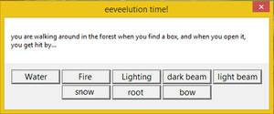 Eeveelution Time! (close)