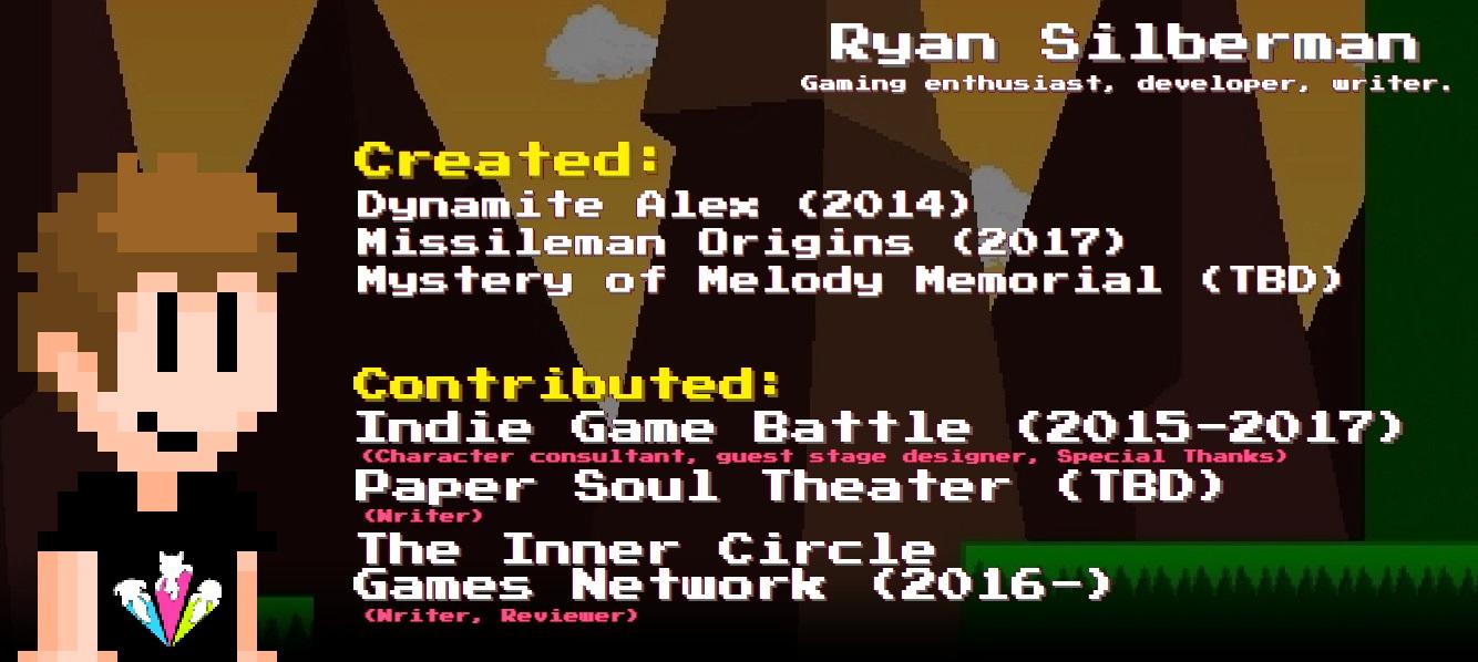 My Gameography by RyanSilberman