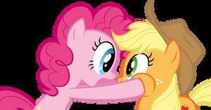 Pinkie Pie - Applejack by TimeImpact