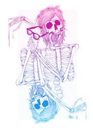 me skull by d4nger