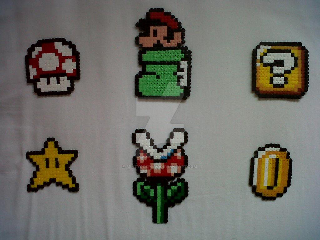 Super mario bros 3 hama beads by mintycosplay on deviantart - Hama beads cuadros ...