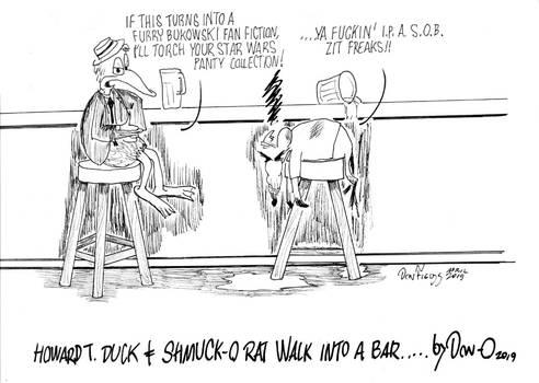 Howard T. Duck meets Shmuck-O Rat