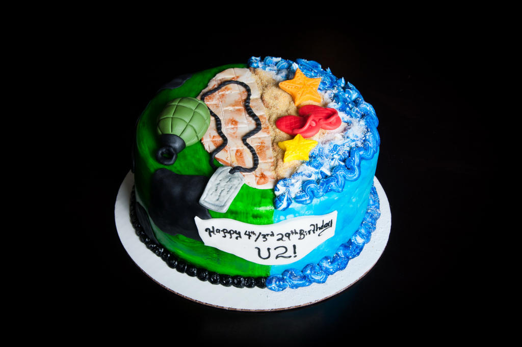 Call Of Dutybeach Themed Cake By Kayleymackay On Deviantart