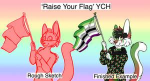 [YCH] Raise Your Flag (CLOSED)