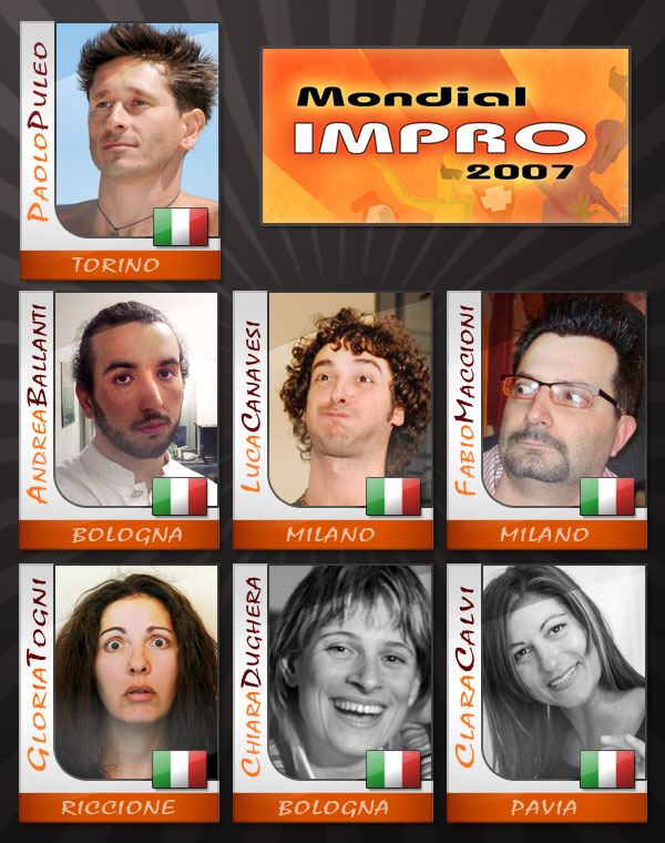 Impro picture-cards 2007 by postream