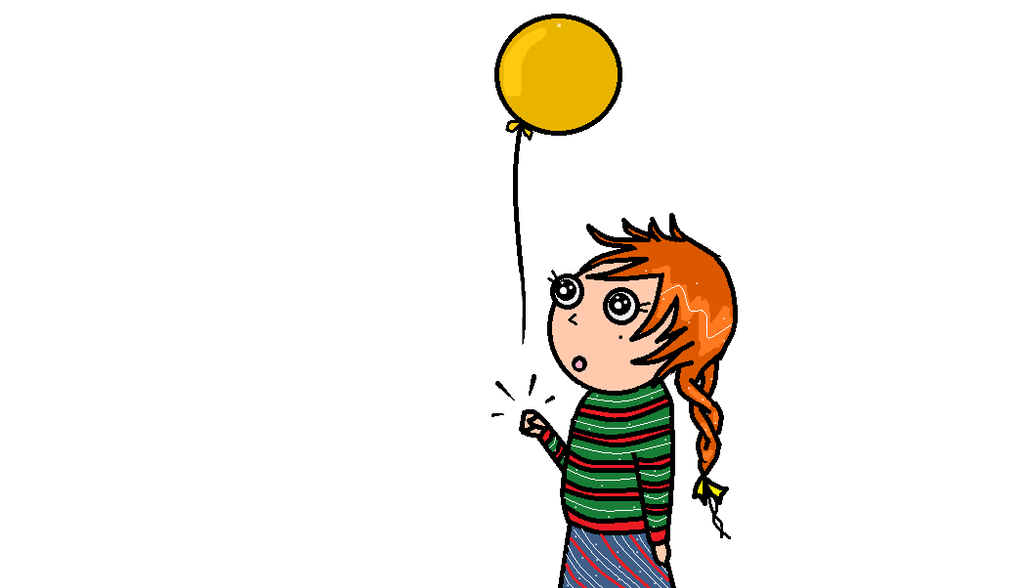 Balloon Girl 1 by BlossomsToBones