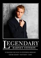 Legendary - Barney Stinson by SouthernDesigner