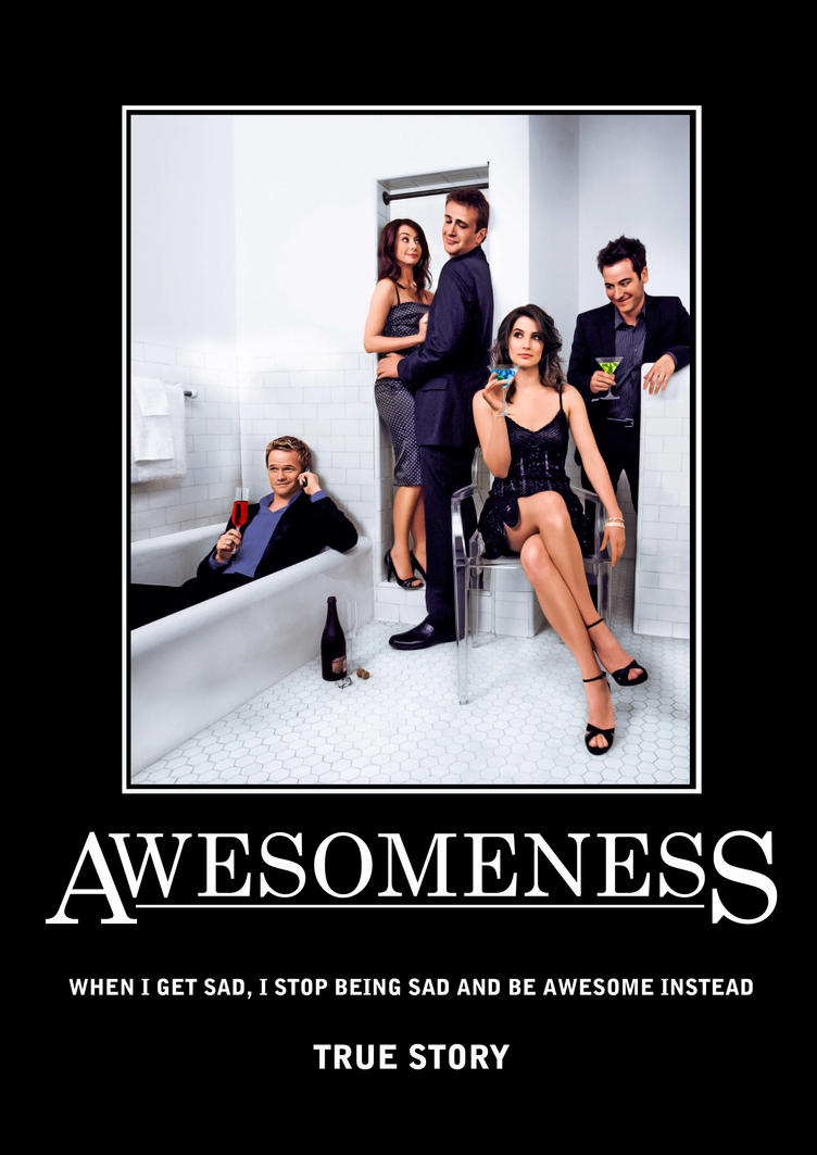 awesomeness poster 1 by southerndesigner on deviantart