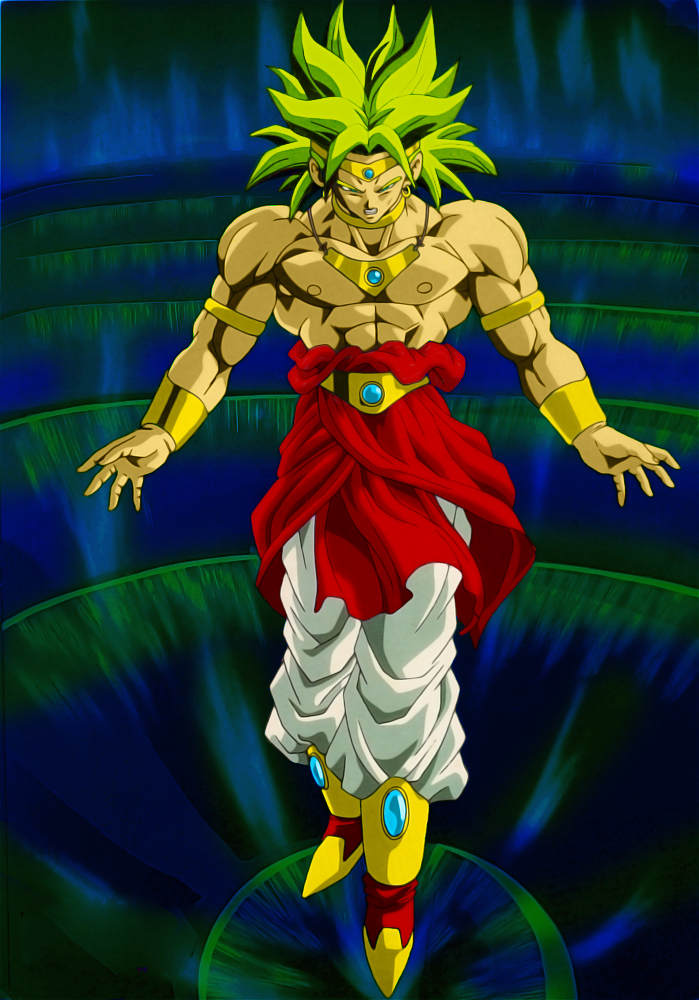 Broly Renewed by SouthernDesigner on DeviantArt