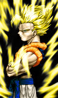 Gogeta's Power by SouthernDesigner